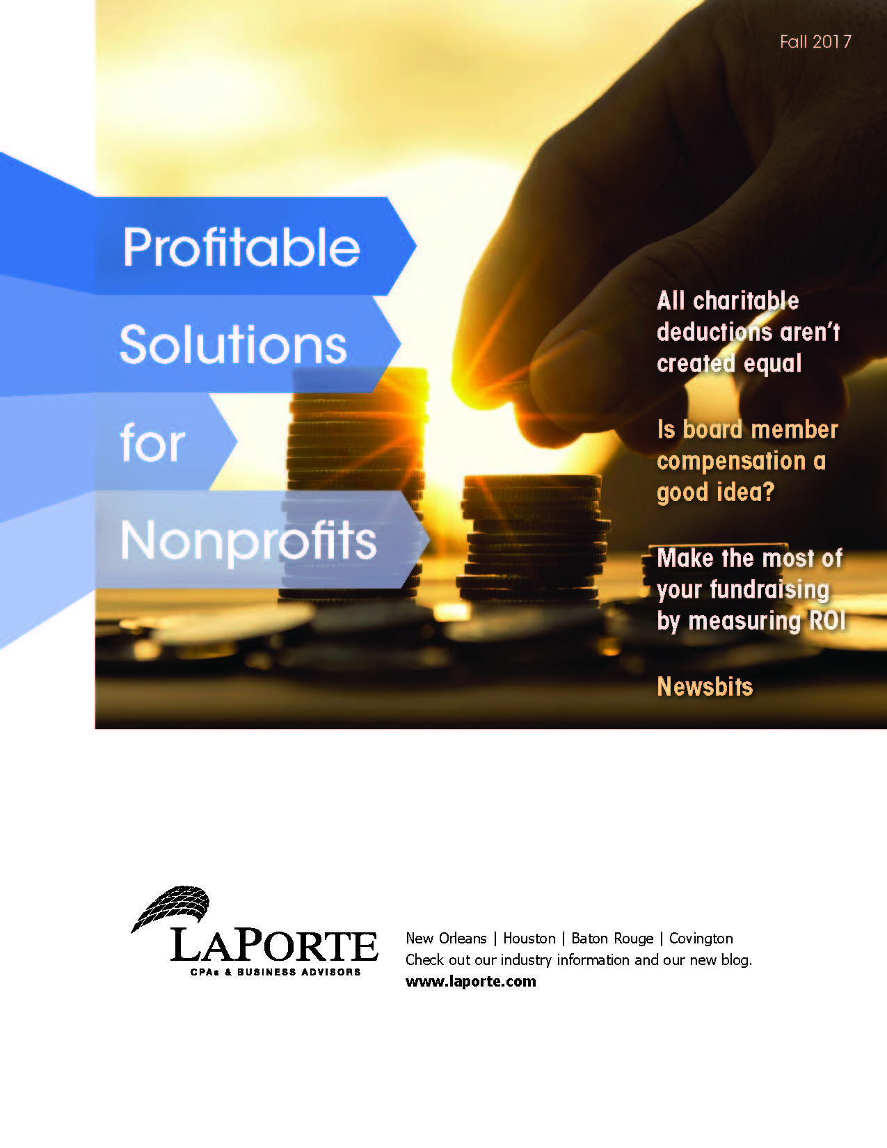 Profitable Solutions for Nonprofits Fall 2017