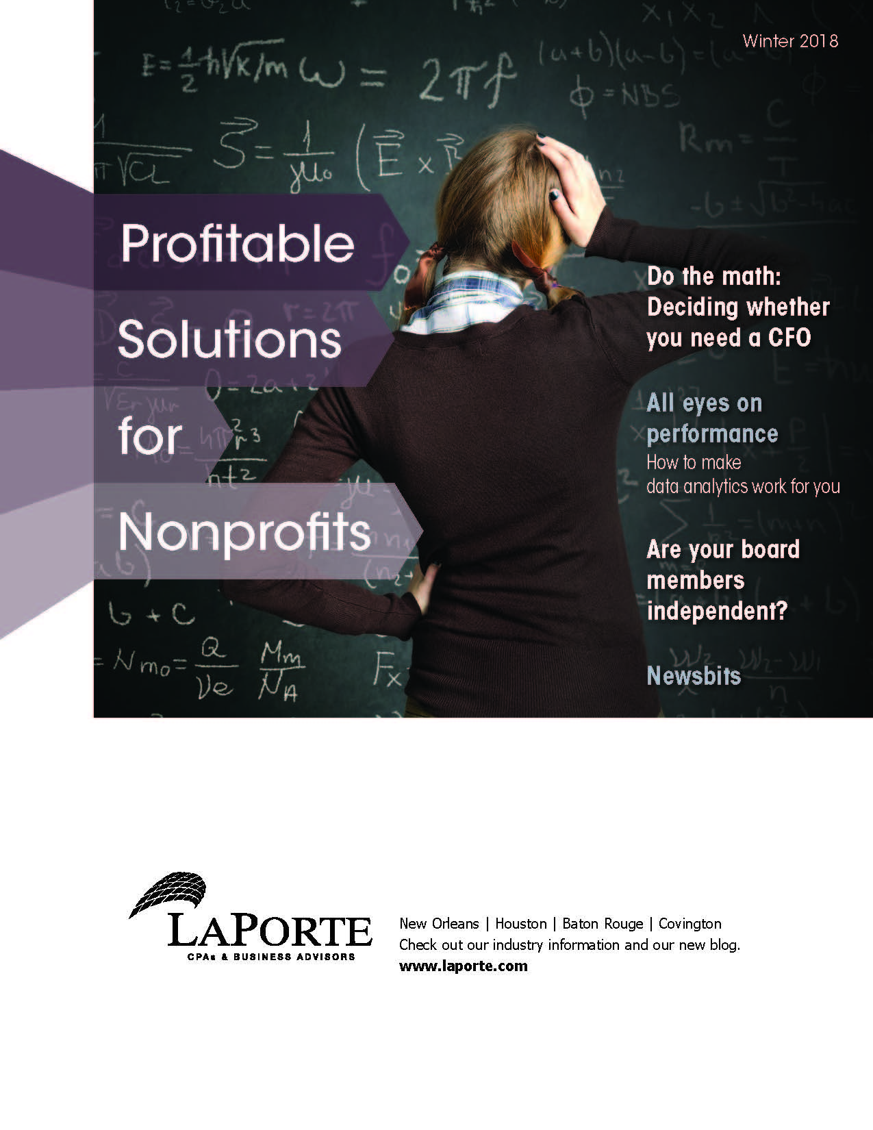 Profitable Solutions for Nonprofits Winter 2018