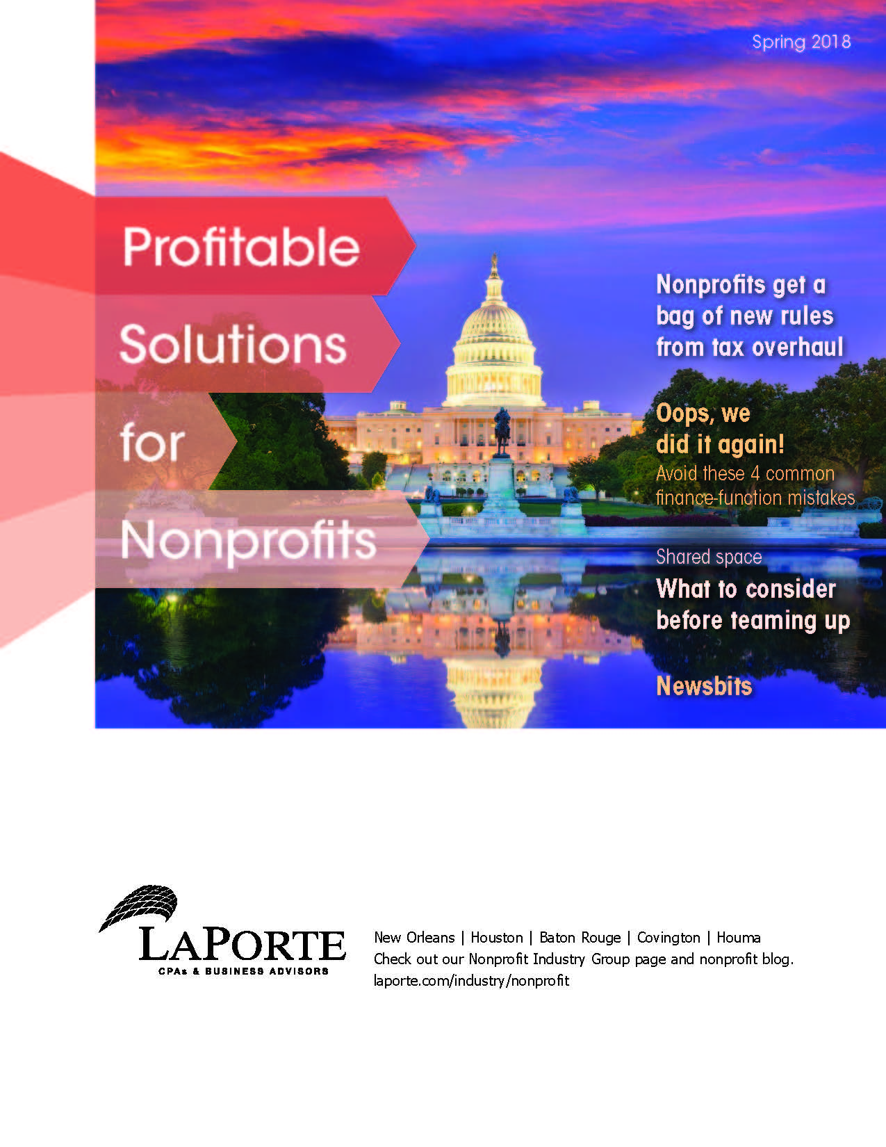 Profitable Solutions for Nonprofits Spring 2018