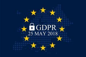 The GDPR goes into effect on May 25, 2018.