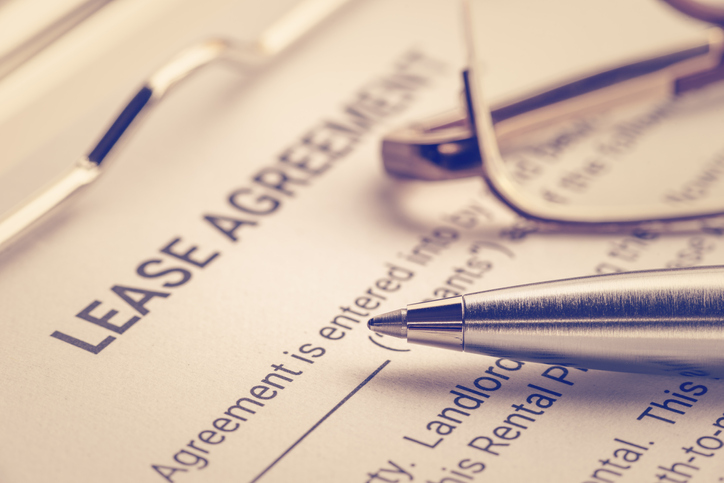 Lease agreements affected by FASB ASU 2016-02