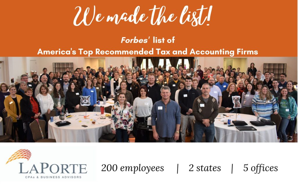 Forbes' List of America's Top Recommended Tax and Accounting Firms
