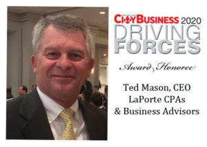 William T. Mason III, CPA, President and CEO of LaPorte CPAs & Business Advisors