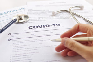 Paperwork for healthcare organizations COVID-19
