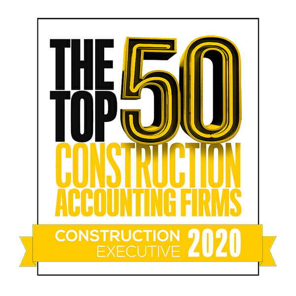 Top 50 Construction Accounting Firms 2019