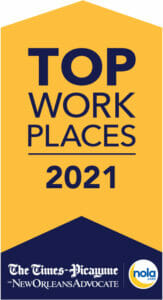 Times Picayune Top Workplaces award logo
