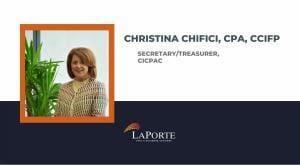 Christina Chifici named Secretary/Treasurer of CICPAC